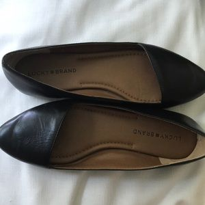 Lucky Brand Leather Loafers 💫 size 8.5 ⭐️ comfy